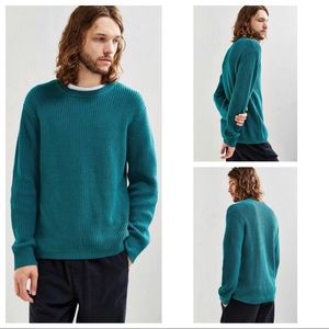 NWT Urban Outfitters Teal Green Knit Sweater